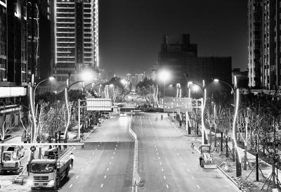 150盏智慧路灯亮相武汉街头