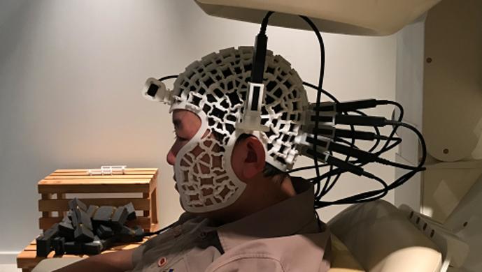 我国首台基于原子磁力计的新型多通道脑磁图系统原型机