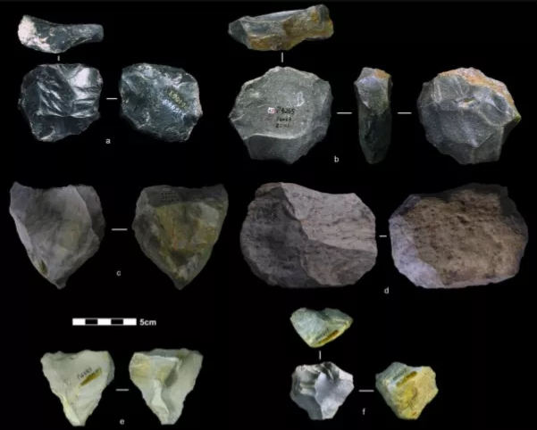 旧石器时代预制石核工具