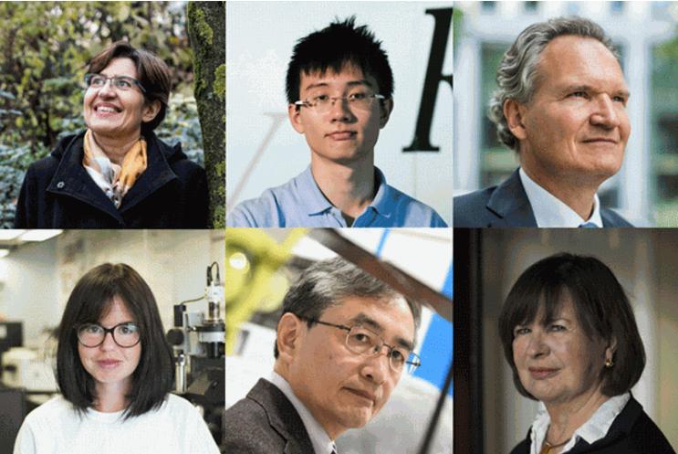 2018年度十大科学人物